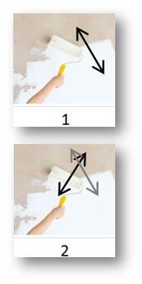 www supernova farbe erleben tipps tricks nass in nass streichen. Black Bedroom Furniture Sets. Home Design Ideas